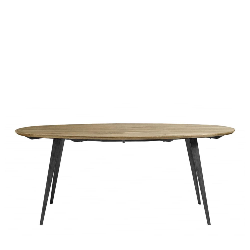 Table A Manger Bois Et Metal.Table A Manger En Bois Et Metal Nordal Skarre