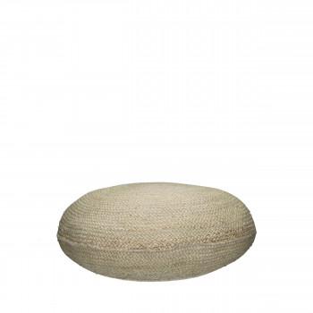 Pouf en jute ø65 cm Juno
