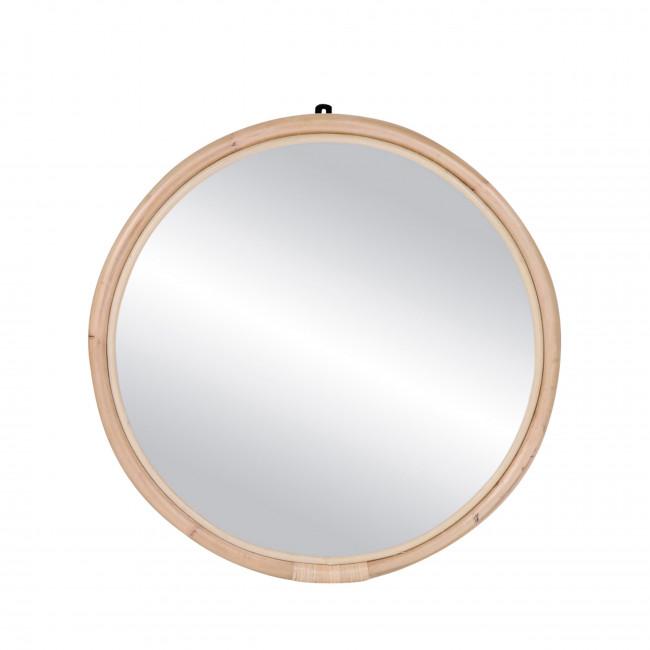 Miroir en rotin ø72 cm Sam
