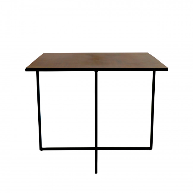 Table basse en métal 60 x 60 cm Finesse