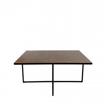 Table basse en métal 70 x 70 cm Finesse