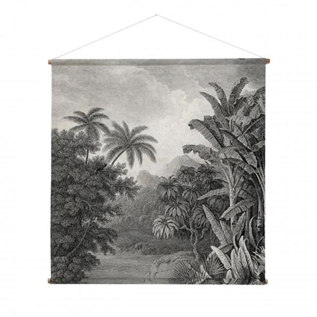 Déco murale imprimé végétal XXL Jungle