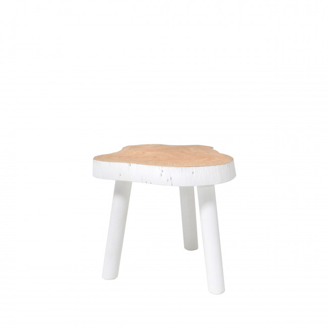 Table basse en bois Oldebroek ø33 cm