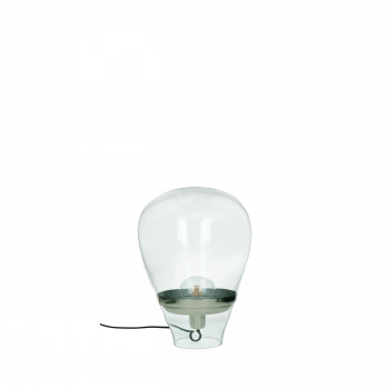 Lampe à poser en verre H35 cm Bullia