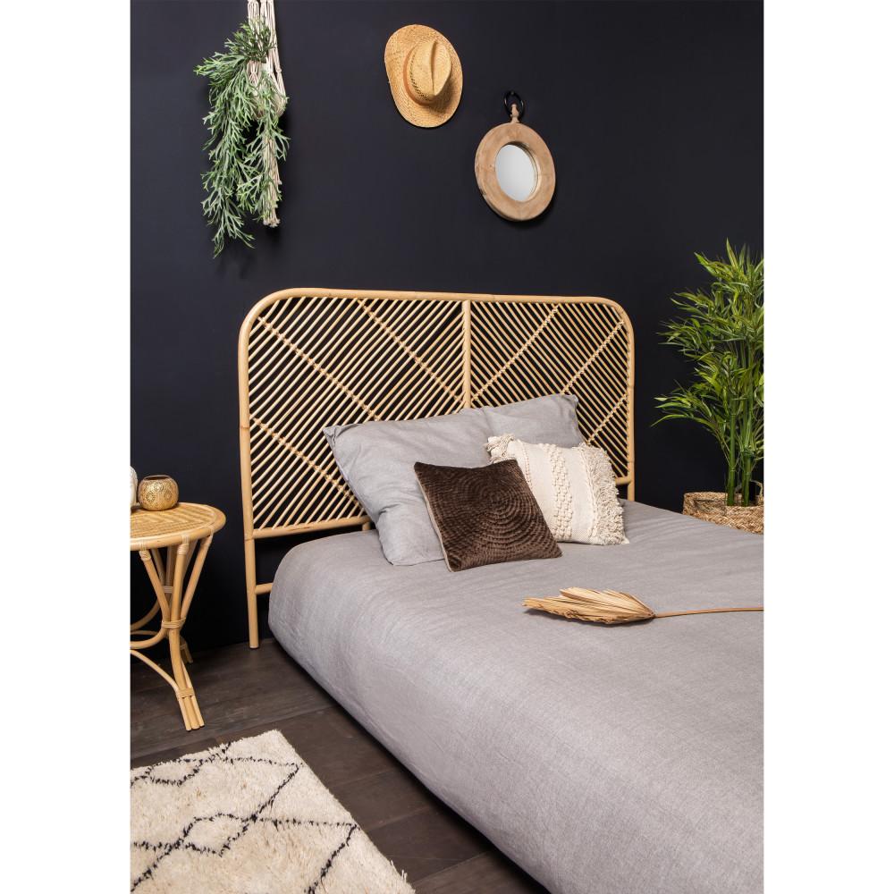 t te de lit en rotin kayan drawer. Black Bedroom Furniture Sets. Home Design Ideas