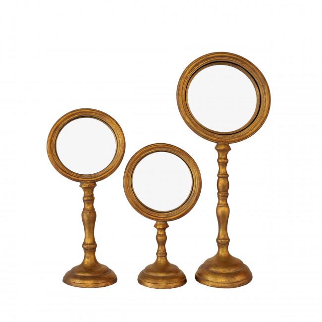 Ensemble de 3 miroirs sur pieds Calan