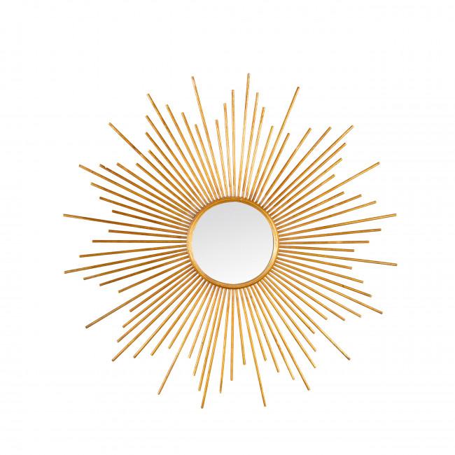 Nandy - Miroir soleil en métal ø80 cm