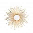 Nandy - Miroir soleil en métal ø93 cm