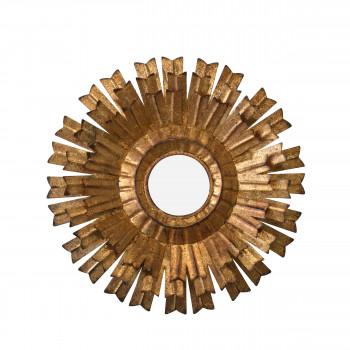 Vez - Miroir soleil en métal ø40 cm