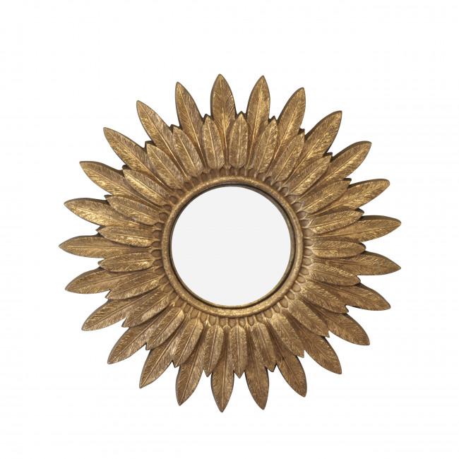 Plume - Miroir soleil ø62 cm