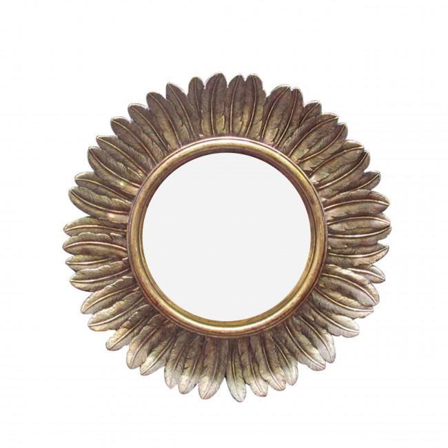 Plume - Miroir soleil ø22 cm