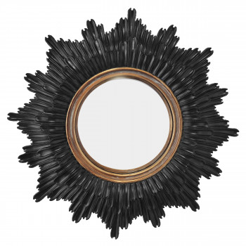 Agathe - Miroir soleil ø30 cm