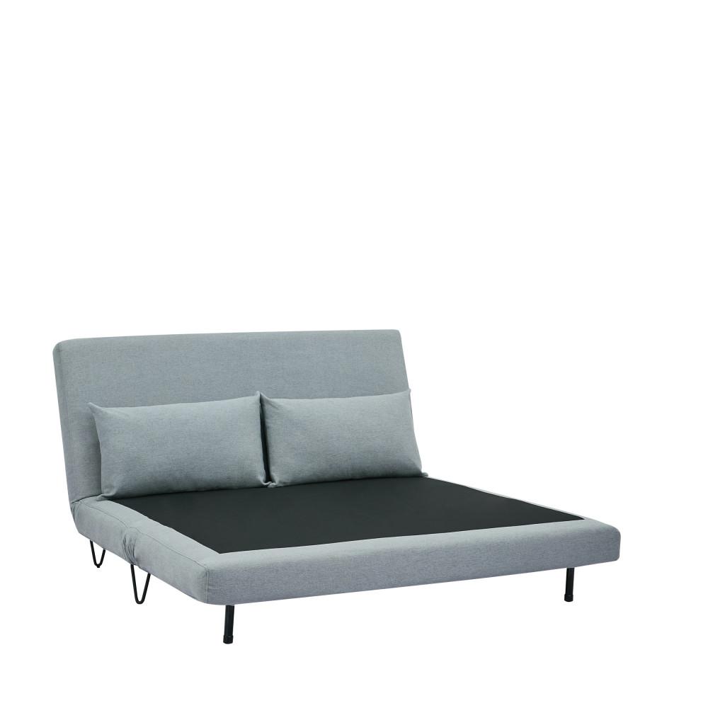 canap convertible 2 places en tissu joe harper. Black Bedroom Furniture Sets. Home Design Ideas