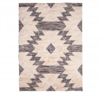 Tapis style berbère en laine Jakhya