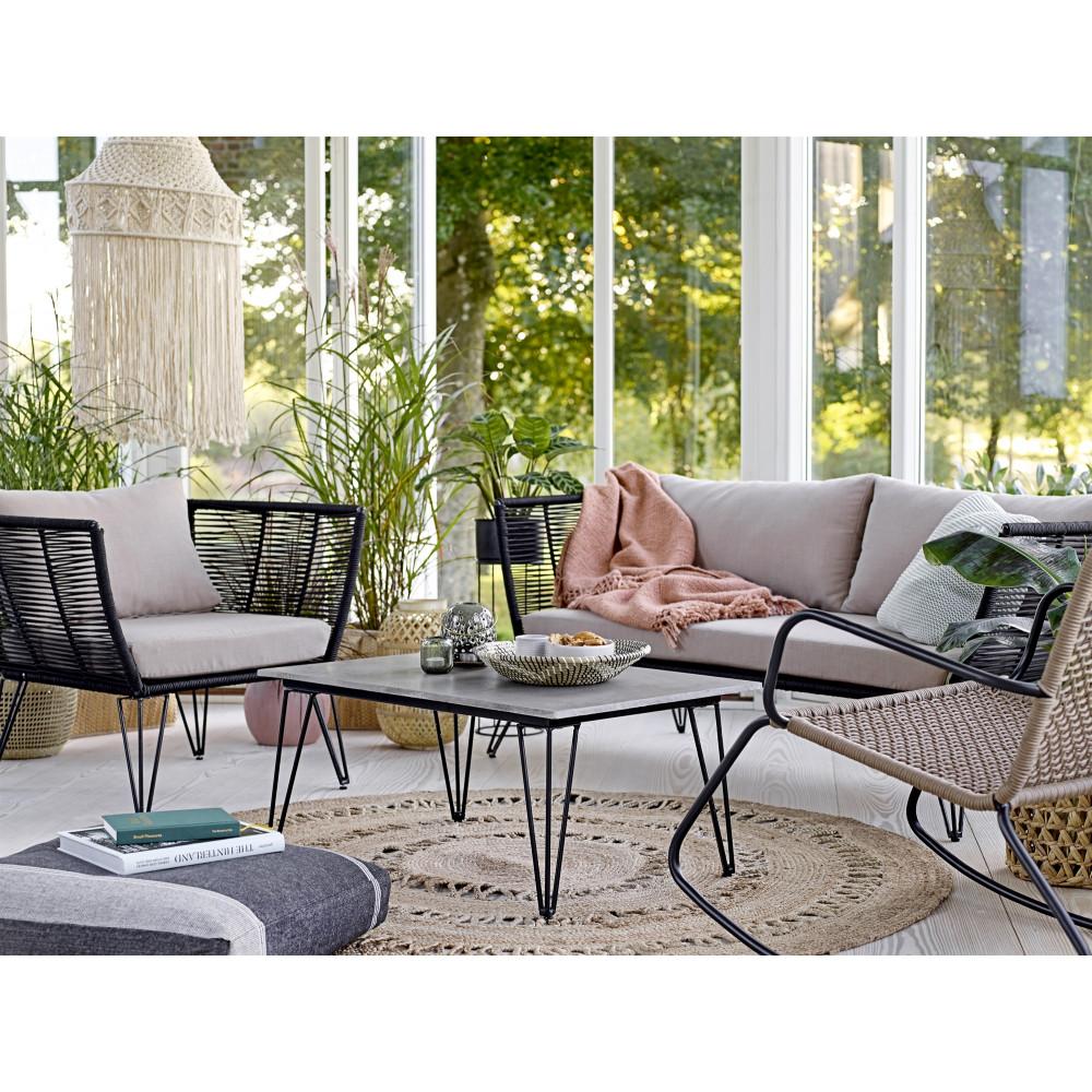Canapé de jardin en résine Bloomingville - SEASING
