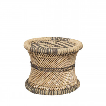 Faith - Tabouret en jute