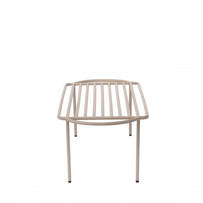 Sheer - Banc design en métal