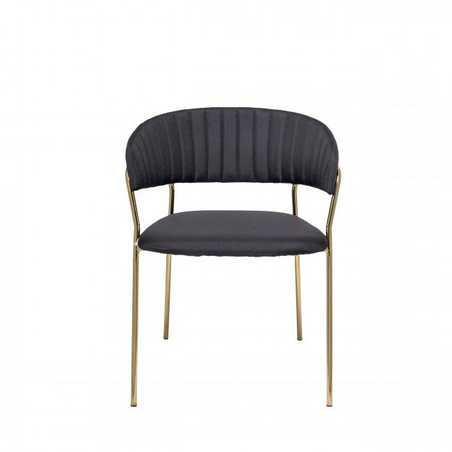 Form - 2 chaises pieds dorés