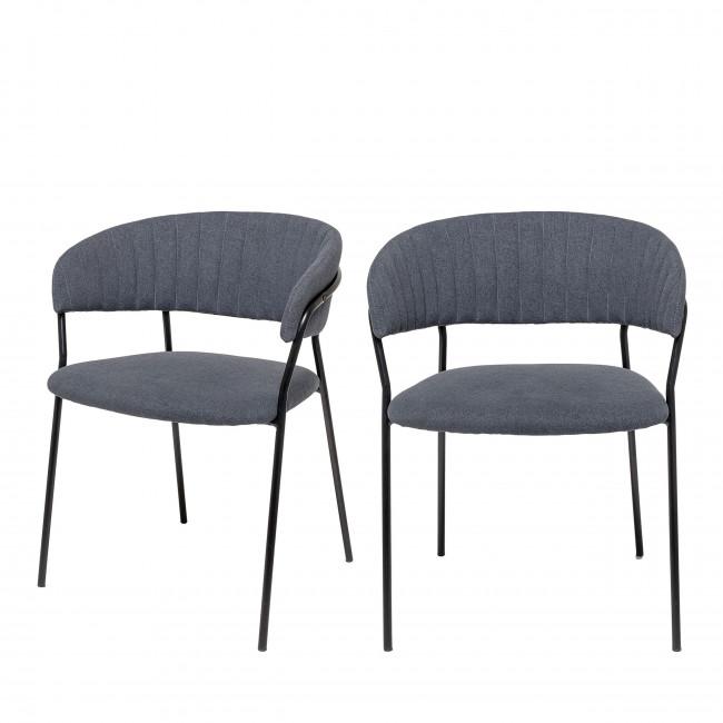 Form - 2 chaises pieds noirs