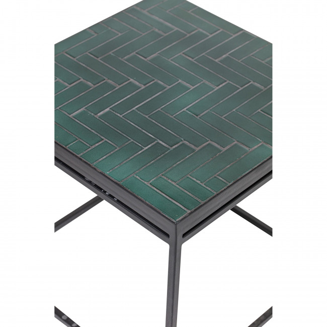 Bay - Table d'appoint carrée