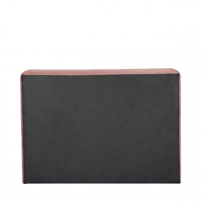 Otello - Tête de lit en velours 140 cm