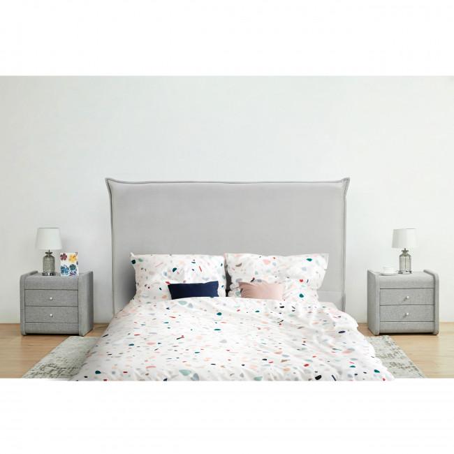 Macbeth - Tête de lit en velours 170 cm
