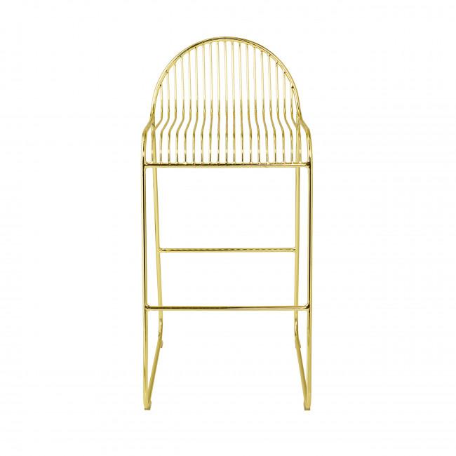 Friend - 2 chaises de bar en métal