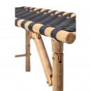 Vida - banc en bambou