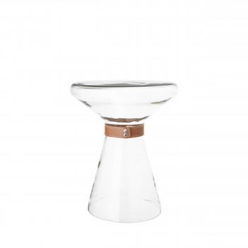 Vetro - table d'appoint en verre