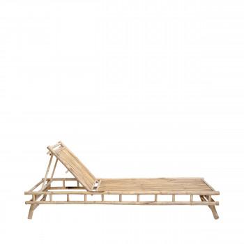 Sole - Chaise longue en bambou