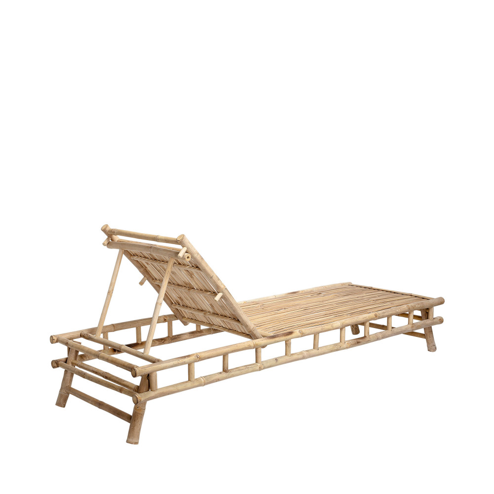 Chaise longue en bambou Bloomingville - SOLE