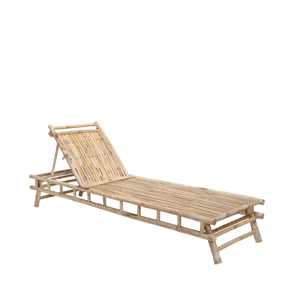 Longue Bloomingville Chaise Bambou Sole En hdtsrCQ