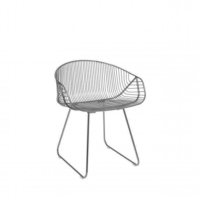 Riva - 2 chaises design en métal