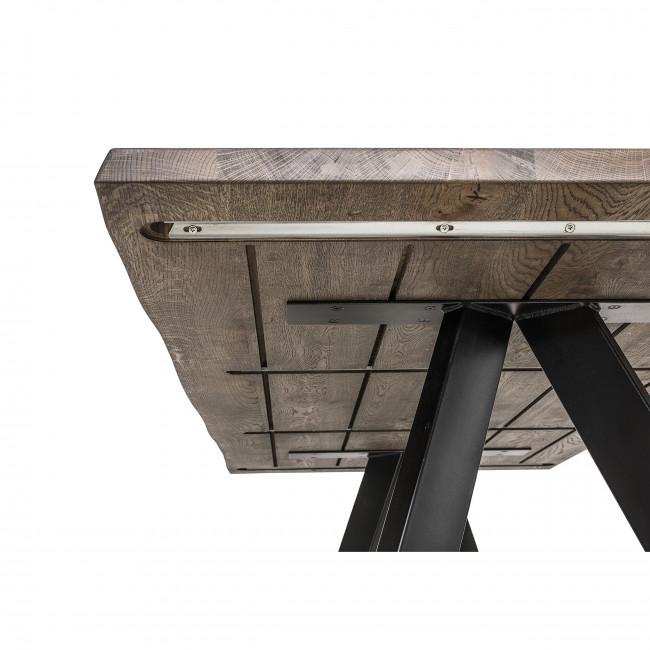Raw - Table à manger en chêne 200cm