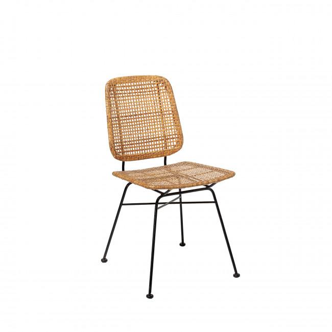 Laurel - 2 chaises en rotin