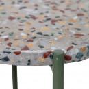 Earth - Table d'appoint en terrazzo