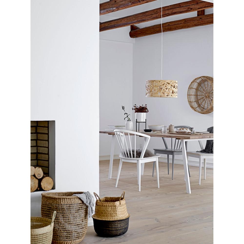 Table à métal manger chêne 200x95cm en et Bloomingville COZY XkOiPuZT