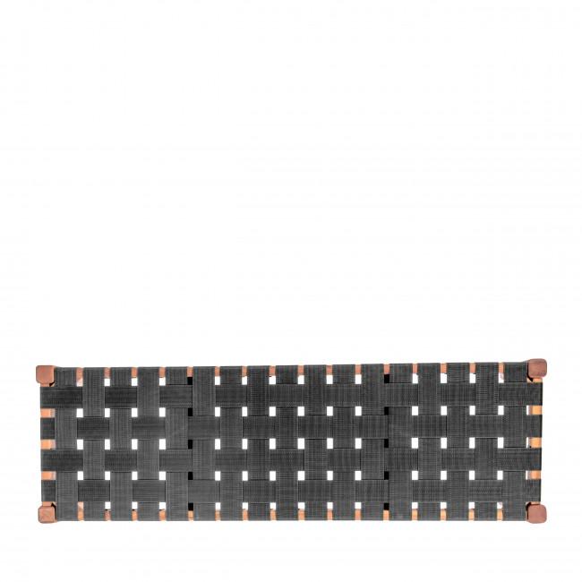 Weave - Banquette en bois et nylon