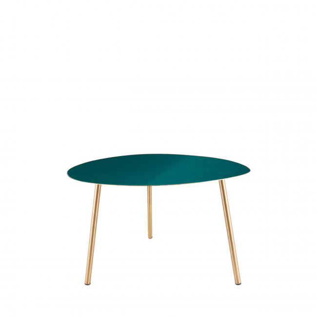 Ovoid - Table d'appoint S en émail