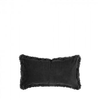 Luxurious - Coussin à franges en velours