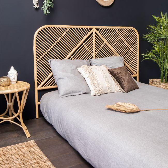 Ngaju - Tête de lit en rotin