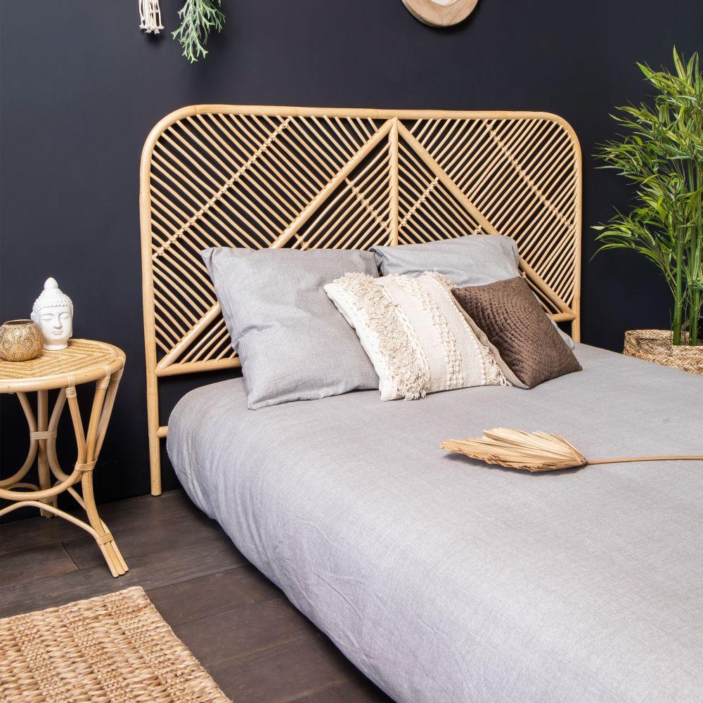 Tête de lit en rotin Drawer - NGAJU