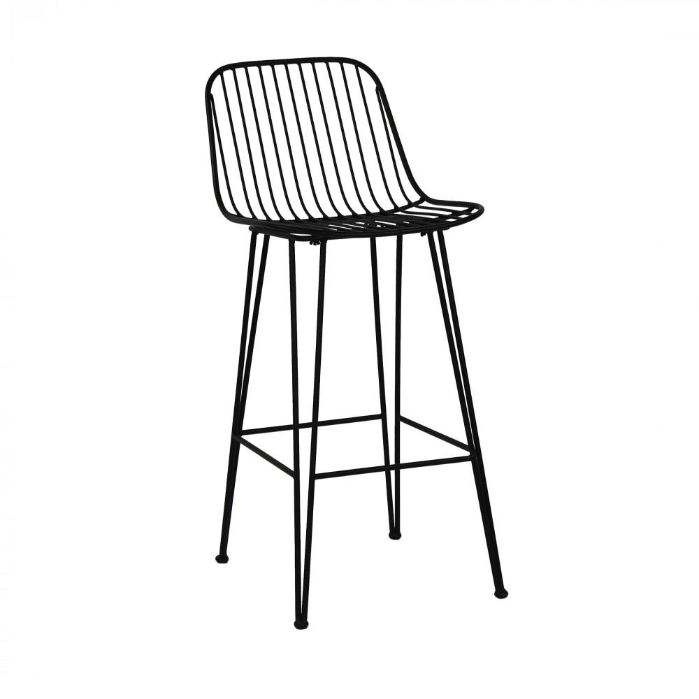 Chaise De Bar Design: 2 Chaises De Bar Design En Métal 67cm Ombra Pomax