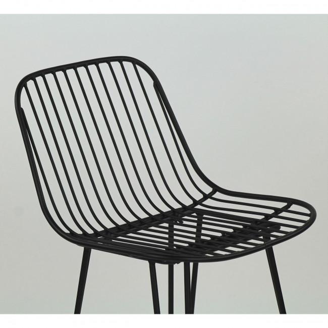 Ombra - 2 chaises de bar design en métal 67cm