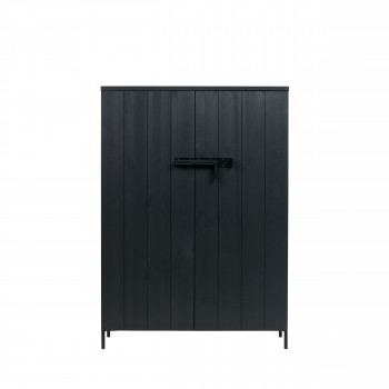 Bruut - Armoire 2 portes en pin brossé
