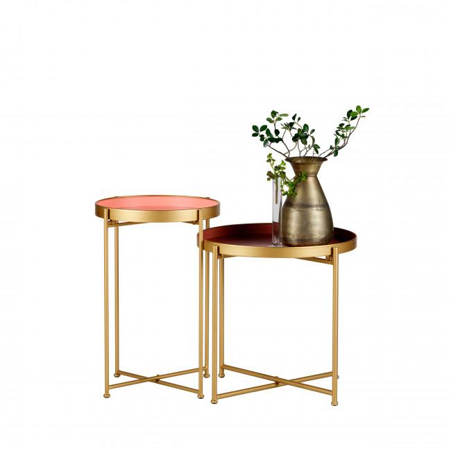 Julez - 2 Tables basses en métal