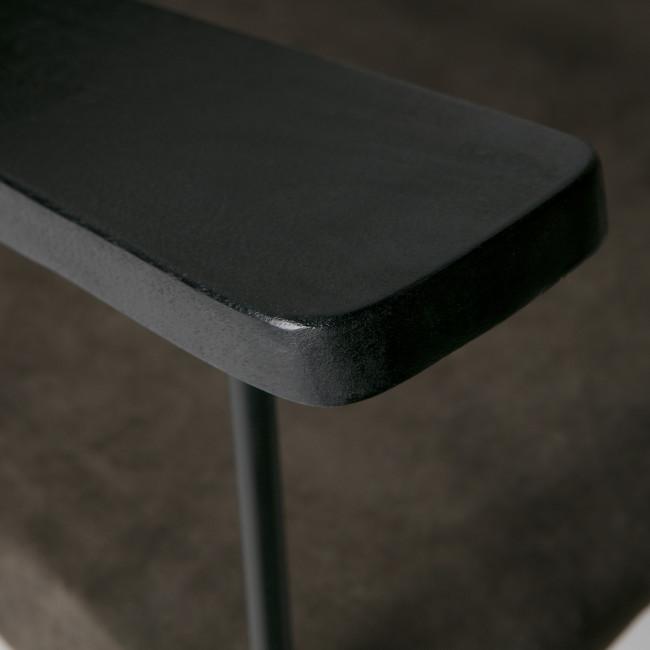 Future - Fauteuil en métal et cuir