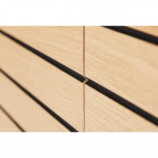 Stripe - Buffet design en bois et métal