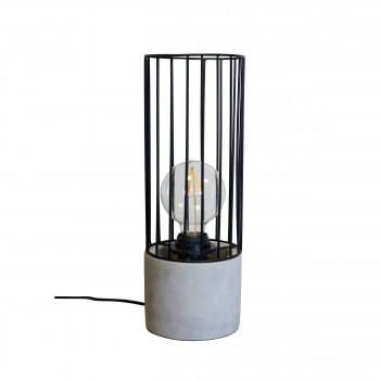 Harrow - Lampe à poser en béton et métal
