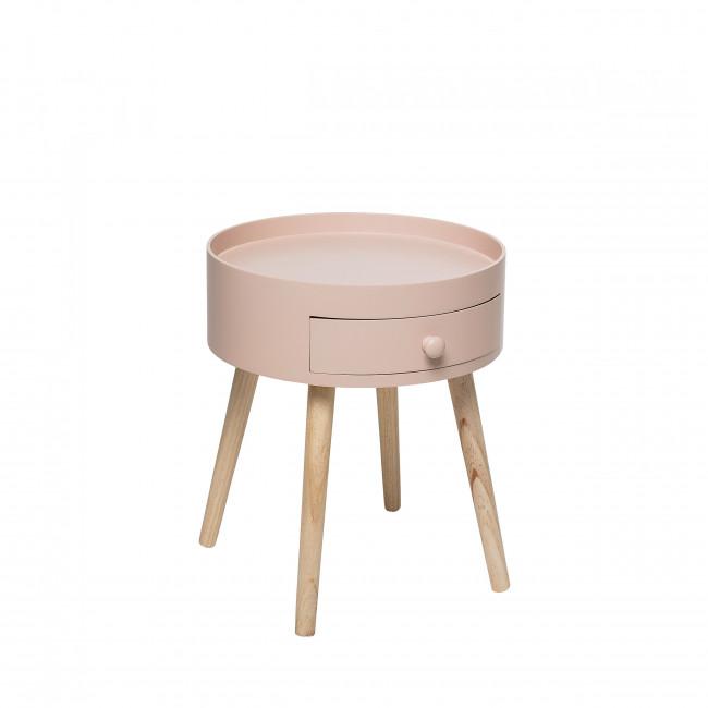 First - Table de chevet en bois